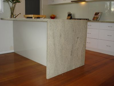 Kitchen on Residential House  Kitchen Bench Tops   Element Stone  Geelong